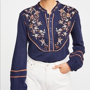 NWT Free People Henley